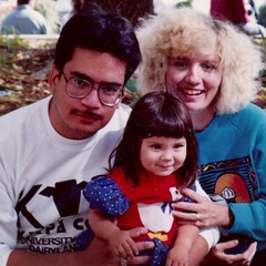 Family in 1992 (booboo_babies) Tags: family flashbackfriday husband wife daughter girl baby toddler fbf