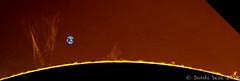 protuberancias solares 02/12/2018 (Jordi Sesé) Tags: sun solar prominences pstmod asi290mm