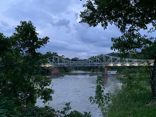 The Bridge of Euclides da Cunha, Saint Joseph of the Rio Pardo, São Paulo (State), Brazil.