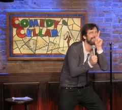 funny Brazilian Comedian Fernando muylaert at Comedy Cellar (fernandomuylaert) Tags: braziliancomedianfernandomuylaert themuylocoatcomedycellar braziliancomedian standupcomedy fernandomuylaert snl comedycentral