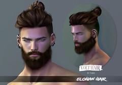 Elohan Hair @ equal10 (✪Tabou✪Volthair owɴer) Tags: sl mesh hair new event equal10 volthair men male