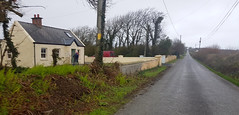 Well out there... (Michael C. Hall) Tags: house home cottage road straight country lane field farm traditional irish kerry