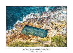 McIvers Ocean Baths Coogee Australia (sugarbellaleah) Tags: pool swimming recreation ocean aerial rockpool rocks waves cliffs coogee randwick seaside coast seascape erosion leisure fitness exercise summer fun outdoor blue orange gree cracks australia stunning scenery amazingtravel tourism colourful vivid summertime season sydney sunny travel holiday getaway weekend unwind enjoyment green brown newsouthwales au