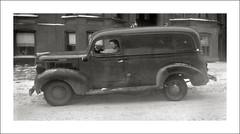 Vehicle Collection (9487) - Dodge (Steve Given) Tags: motorvehicle automobile workingvehicle dodge van winter snow 1940s newyork
