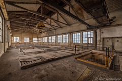 Lost Place (Guy Goetzinger) Tags: goetzinger d850 nikon urbex lostplaces industrial fabrik old building hdr aargau switzerland workplace