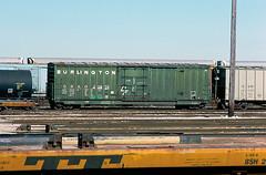 CB&Q Class XML-16 20970 (Chuck Zeiler54) Tags: cbq class xml16 20970 burlington railroad boxcar box car freight bensenville train chuckzeiler chz