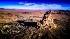 DJI_0156-HDR-HDR (Greg Meyer MD(H)) Tags: arizona djiphantom4 aerialphoto drone landscape monumentvalley things kayenta unitedstates us butte rockformation moonscape southwest desert mountain rock solitude