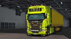 Italia_2019 (black_moloko) Tags: smds scania latvia ets2 truck
