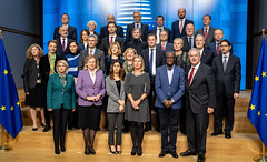 Außenministerin Karin Kneissl trifft Friedensnobelpreisträger/in Denis Mukwege und Nadia Murad