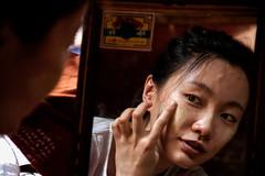Applying Thanaka Make-Up (El-Branden Brazil) Tags: myanmar burma burmese monks buddhism buddhist southeastasia asian asia thanaka makeup happyplanet asiafavorites