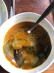 This spicy soup at Bliss was to die for! (shankar s.) Tags: seasia indonesia java bali islandparadise baliisland touristdestination hotel lodgings accomodation resort entrance blissubudspaandbungalow ubudbali reception catering food plate roomservice plating tofu tepe meal spicy soup