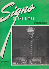 Signs of the Times Magazine - December 1956 Cover - El Cortez Hotel, San Diego (neon signage by California Neon Products) (hmdavid) Tags: sign neon californianeonproducts sandiego california roadside advertising midcentury signsofthetimes magazine december 1956 cover elcortezhotel
