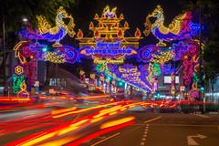 Little India of Singapore (BP Chua) Tags: singapore asia littleindia deco decorations lights colours night nikon d800e deepavali diwali indian festival