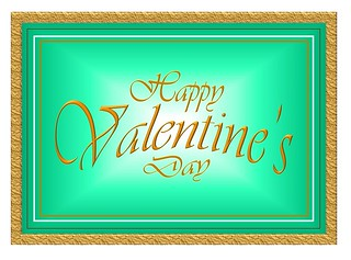 Fabulous Valentine's Day Greeting Card