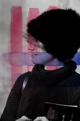 Nº11 (nuriagalv) Tags: watercolor portrait color people black bnw bw blanco bn blancoynegro boy blackandwhite bnwphotography bnwportrait girl
