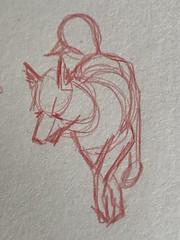 Turner (miketrujillo) Tags: drawing art sketch ballpoint black white animals creature photo illustration