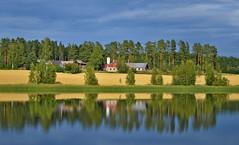 Hard way to the Finnish farm :-)))) (L.Lahtinen (nature photography)) Tags: alavehkajärvi sysmä lake countryside suomi