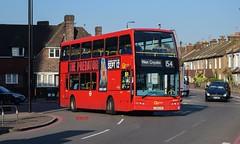 DOE54 Go-Ahead London (KLTP17) Tags: lx09aye doe54 goahead london morden 154 sutton optare olympus bus
