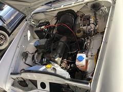 (subynut) Tags: volvo stationwagon 1967 enginebay