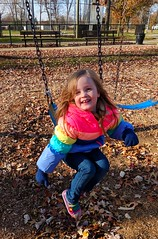 Ellie (ekelly80) Tags: michigan thanksgiving november2018 fall grossepointe family love swing park playing