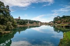 La ría de Niembro, Llanes (ccc.39) Tags: asturias niembro llanes ría agua reflejos pueblo river water reflections