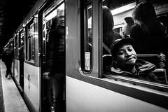 Paris (tomabenz) Tags: france sony a7rm2 metro bnw streetshot bw people a7 mono urban underground street photography noir et blanc noiretblanc human geometry urbanexplorer zeiss streetview black white europe paris monochrome blackandwhite humaningeometry sonya7rm2 sonya7 streetphotography