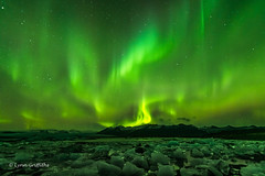 Northern Lights - Aurora Borealis in full flow D85_8025.jpg (Mobile Lynn) Tags: water northernlights glacier longexposure landscape ice auroraborealis landscapephotography outdoorphotography hornafjörður easternregion iceland is coth5 ngc npc