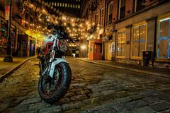 Ghost Rider (Kathy Macpherson Baca) Tags: newyorkcity cityscape stonestreet world night planet manhattan dutch earth