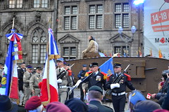 Armistice events in the Grand-Place, Mons. (greentool2002) Tags: armistice events grandplace mons on 100th anniversary end first world war city stage number