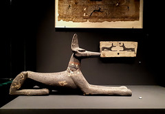 20181024_112656 (durr-architect) Tags: national museum antiquities leiden rijksmuseum oudheden exhibition godsofegypt ancient egyptian pantheon treasures sculptures gods goddesses magical papyri gold jewels painted mummy cases