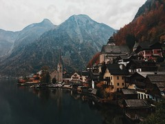 (Kristen Leary) Tags: hallstatt austria europe europetravel landscape landscapephotography fall autumn colors nature outdoors nikon nikond3300 nikonphotography world explore adventure travel photography photographer youngphotographer mountains lake town