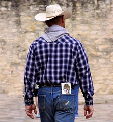 guys at the Alamo (miosoleegrant2) Tags: guy man older vacation tourist outside male butch gentleman men guys dude studly manly dudes handsome stud candid hunk sexy masculine people beardy barbate hat jeans silver daddy silverdaddies seniors mature over50 maturemen matureman siverdaddy grandad granddad grandaddy granddaddy silverfox saltpepper olderman fit old hombre maduro guapo cowboy beard butt levi