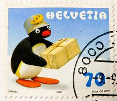 great stamp Helvetia 70c Pingu (cartoon character by Otmar Gutmann 1937-1993; Pinguin, manchot, pingvin, penguen, πιγκουίνος, pingwin, пингвин, pinguino, ペンギン, pingüino, 企鹅, mörgæs, tučniak, 펭귄) Swiss Schweiz Switzerland stamp timbre Helvetia timbre-poste (stampolina, thx for sending stamps! :)) Tags: cartooncharacter otmargutmann pinguin manchot pingvin penguen πιγκουίνοσ pingwin пингвин pinguino ペンギン pingüino 企鹅 mörgæs tučniak 펭귄 cartoon comic helvetia schweiz suisse swizz stamp briefmarke marka timbre sello selo bollo francobollo franco porto frankatur postapulu pulu timbresposte szwajcaria svizzera suiza stamps swiss switzerland timbres postage briefmarken sellos selos bolli francobolli postes antspaudai frimerker znaczki znamk pulları