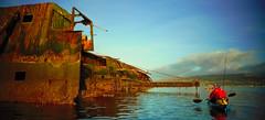 The sugar boat (Nicolas Valentin) Tags: sugarboat boat scotland wreck fishing kayak kayakfishing clyde firth greenock ecosse
