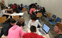 Jornada bici para grupos embajadores - IMG_20181220_125702 (Medioambiente Zaragoza) Tags: stars proyectostars zaragoza movilidad sostenible escolar