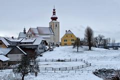KIRCHWEILER (COL) (LitterART) Tags: kirchweiler steiermark styria austria österreich dorf ort winter fujifilm stpankrazen kirche eglise church
