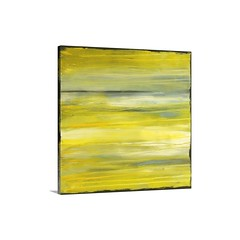 Yellow Dawn Wall Art - Canvas- Gallery Wrap - This decorative accent for the home or office shows left to right streaks of paint over sanded textures.   Check out our website: https://spaceplug.com/yellow-dawn-wall-art-canvas-gallery-wrap.html . . . . #sp (spaceplug) Tags: gift love shop mood buy happy like4like products amazing canvasart canvas marketplace spaceplug like sell gallerywrap wallart photo nice bigcanvas followus yellowdawn style photography follow4follow