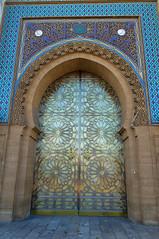 Palace doors, Kingdom of Morocco (Bokeh & Travel) Tags: kingdomofmorocco architecture morocco kingdom africa palace doors colourful colours filigree handicraft artisanal mediterranean islamic art oriental