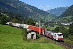 189 901, TEC 41857. Angertal (M. Kolenig) Tags: 189 ekol tauernbahn berg baum gasteinertal