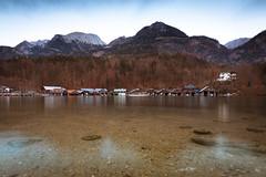 Bootshäuser 5 (Obachi) Tags: schönauamkönigssee berchtesgarden flickr königssee