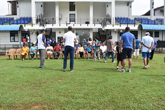 Prepping for the morning group pic (All_the_HGs) Tags: 2018 hgfa cricket match 3generations october2018 janakaranawakagrounds malliswon