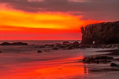 Malibu Beach Sunset Red & Orange Clouds Fine Art El Matador State Beach California Landscape Seascape Photography! Sony A7R II & Sony FE 24-240mm Lens! High Res 4k 8K Photography! Elliot McGucken Fine Art Pacific Ocean Sunset! Sony A7RII A7R2! (45SURF Hero's Odyssey Mythology Landscapes & Godde) Tags: malibu sea cave sunset red orange clouds fine art el matador state beach california landscape seascape photography sony a7r iii fe 1635mm f28 gm g master lens high res 4k 8k mcgucken pacific ocean a7riii a7r3 ii 24240mm elliot a7rii a7r2