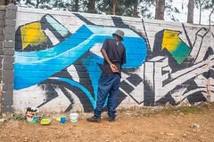 (kuremarwanda) Tags: rwanda streetart garagara250 kuremakurebakwiga mural urbanaesthetics visibility kigali visitrwanda