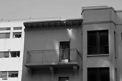 Rue Savignac 8 (Denis Hébert) Tags: denishébert anthropogeo quartierlatin montreal montréal québec quebec canada monochrome bw blackandwhite blackwhite noiretblanc nb juillet july 2018 été summer édifice building fenêtre window balcon balcony porte door ombre ombrage shadowy shadow newtopographer newtopographic ngc