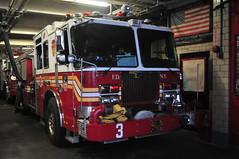 FDNY Engine 3 (Triborough) Tags: ny nyc newyork newyorkcity newyorkcounty manhattan chelsea fdny newyorkcityfiredepartment firetruck fireengine engine engine3 kme