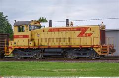 GCSX1242GB_GraniteCityIL_220718_01 (Catcliffe Demon) Tags: railways railroading usa steelmill uss gcsx sw1200 switcher emd diesellocomotive unitedstatessteelcorp granitecityworks usatrip11jul2018 illinois rosters