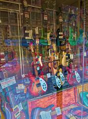 WindowOfAThousandDreams - Copy (iankellybn26dj) Tags: uk england london music guitar window colour color dream hdr rockmusic