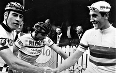 1964 Grand Prix Brasschaat (Sallanches 1964) Tags: eddymerckx worldchampionroadcycling amateurs 1964 rainbowjersey
