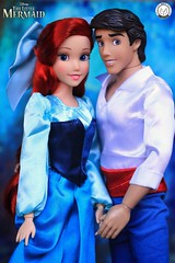 Prince Eric & Ariel (Happy Anniversary Little Mermaid) (PrinceMatiyo) Tags: ariel toyphotography disneystore disney princeeric thelittlemermaid