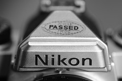 Nikon FE- Oh yes Buddy, you definitely passed! (Peeb OK) Tags: nikon film analog analogue fe nikonfe mono monochrome black white blackandwhite classic fuji fujifilm xt20
